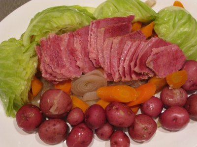 Corned Beef, Cabbage, and Potatoes